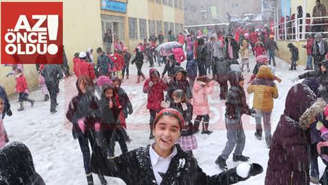 8 Ocak 2019 Salı günü Kars'ta okullar tatil mi?