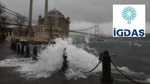 İGDAŞ'tan İstanbullular'a lodos uyarısı