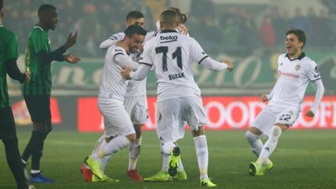 Beşiktaş maçında Akhisarspor'dan kural hatası