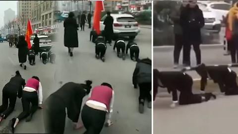 Çin'de çalışana akıl almaz ceza!