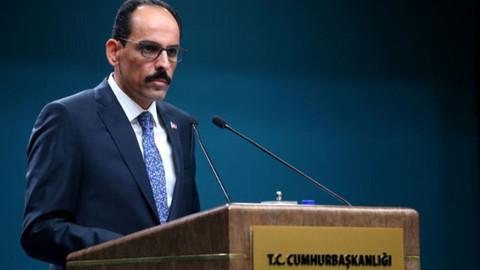 İbrahim Kalın'dan 'PKK propagandası' tepkisi