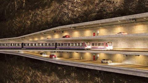 Boğaz'ın altından geçen 3 katlı tünel projesine onay