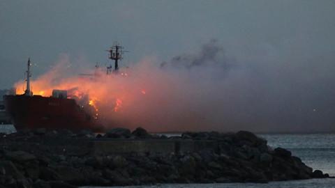 Kerç Boğazı'ndaki gemi yangınında 10 kişi öldü