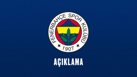 Fenerbahçe'den hakem açıklaması!