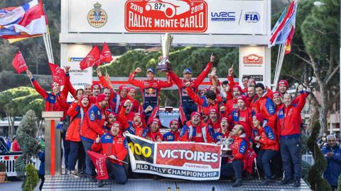 2019 WRC MONTE-CARLO RALLİSİ SONA ERDİ