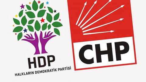 CHP'den HDP ile ittifak açıklaması