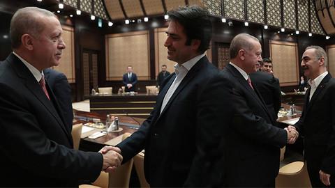 Cumhurbaşkanı Erdoğan sinema sektörü temsilcileri ile görüştü