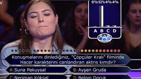 Ayşen Gruda sorusunda iki joker kullandı!