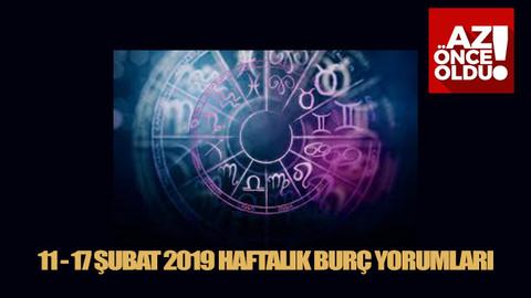 11 - 17 Şubat 2019 Haftalık Burç Yorumları