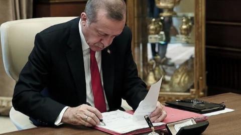 Cumhurbaşkanı Erdoğan onayladı! Yeniden kuruldu