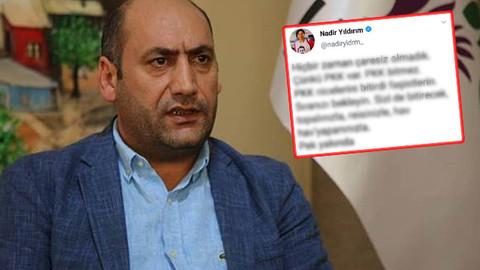 Eski HDP milletvekilinden tepki çeken PKK paylaşımı