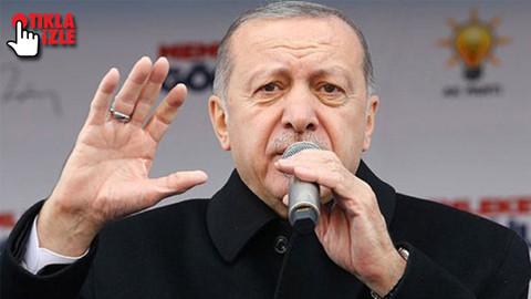 Cumhurbaşkanı Erdoğan'dan terör mesajı