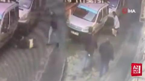 Kadına şiddet kamerada