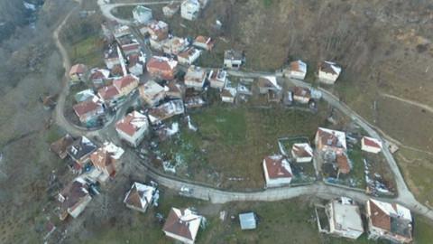 Ordu'da heyelan nedeniyle hasar gören 17 bina tahliye edildi