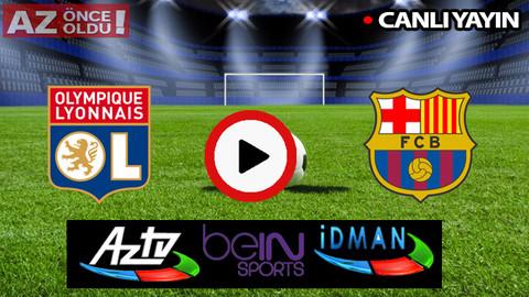 CANLI İZLE | Lyon Barcelona şifresiz CANLI İZLE | Lyon Barcelona bedava canlı izle