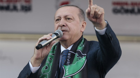 Erdoğan: Resimleri var ama CHP'nin logosu yok