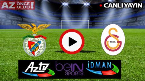 CANLI İZLE | Benfica Galatasaray maçı şifresiz CANLI İZLE | Benfica Galatasaray bedava canlı izle