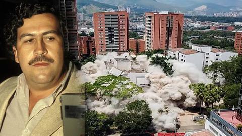 Escobar'ın binası 3 saniyede yılıkıldı