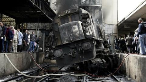 Mısır'da yangın: Ölü ve yaralılar var!