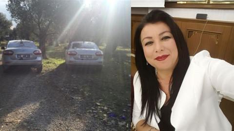 Kadın muhtar aracında ölü bulundu