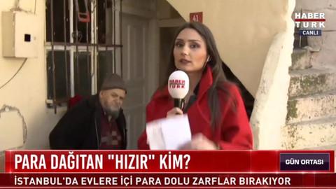 Beyoğlu Hasköy'de evlere para dağıtan Hızır kim? Hayırsever kaç para dağıtıyor?