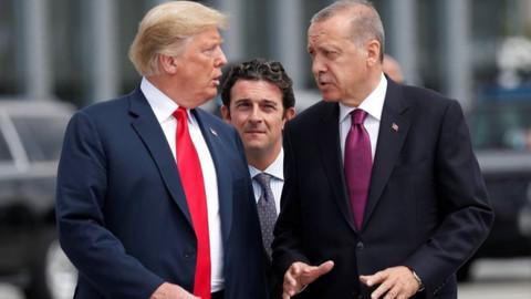 Trump'tan Türkiye ile ilgili mektup