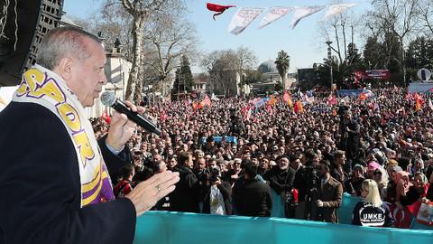 Cumhurbaşkanı Erdoğan'dan İmamoğlu'na: Hava atma!
