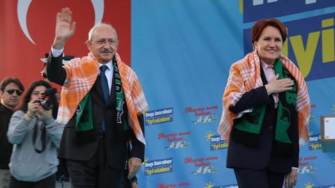 Kılıçdaroğlu ve Akşener Denizli'de ortak miting yaptı