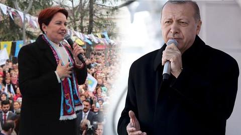 Akşener'den Cumhurbaşkanı Erdoğan'a: Kaçmıyorum