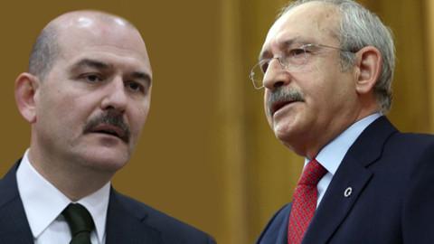 Kılıçdaroğlu'na Soylu'ya hakaretten fezleke