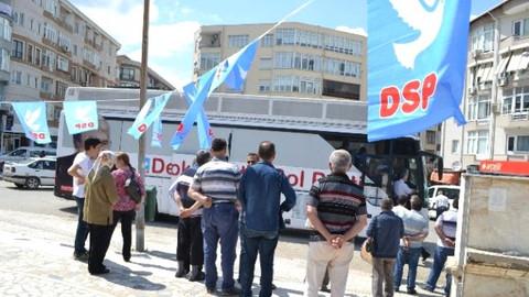 'DSP mitingine katılım 50 lira' iddiası!