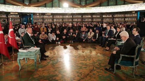 Cumhurbaşkanı Erdoğan'dan dikkat çeken Ayasofya açıklaması