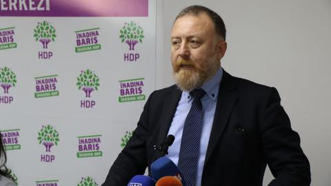 HDP'li Sezai Temelli hakkında soruşturma başlatıldı