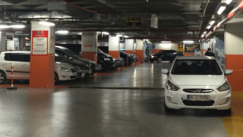 LPG'li araçlara kapalı otopark izni!