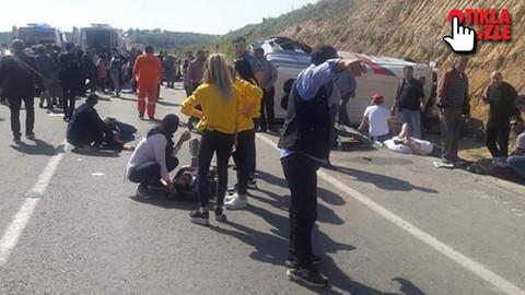 Adana'da seçim kazası