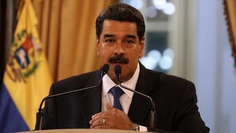Maduro: 5 milyar dolarımız rehin alındı