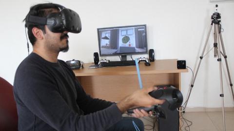 Üniversiteli gençten sanal gerçeklik yazılımı