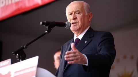 Bahçeli: Türkiye'yi teslim alamayacaklar