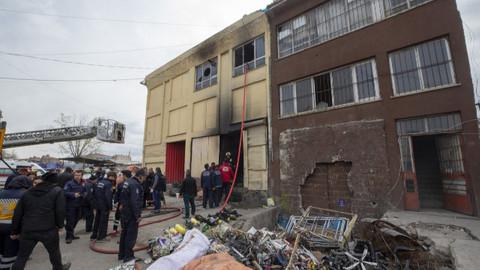 Ankara'da yangın: 5 kişi öldü