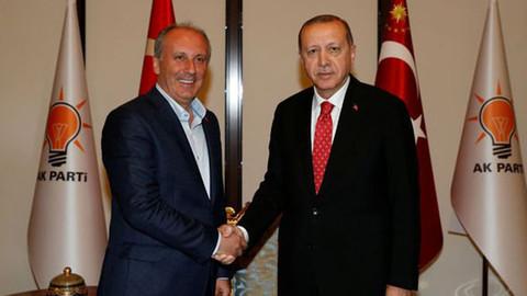 Muharrem İnce'den Cumhurbaşkanı Erdoğan anısı