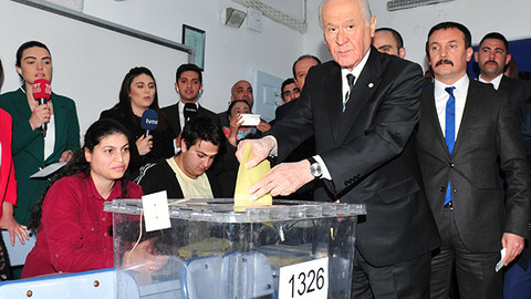 Bahçeli: Cumhur İttifakı'na oy verdim