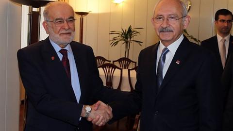 Kılıçdaroğlu SP lideri Karamollaoğlu'nu aradı