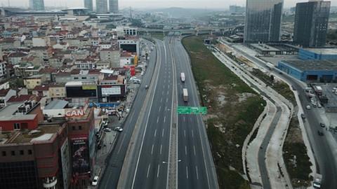 İstanbul'da kapatılan tüm yollar trafiğe açıldı