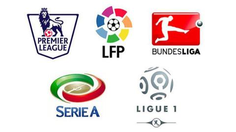 Avrupa'nın 5 büyük liginde görünüm