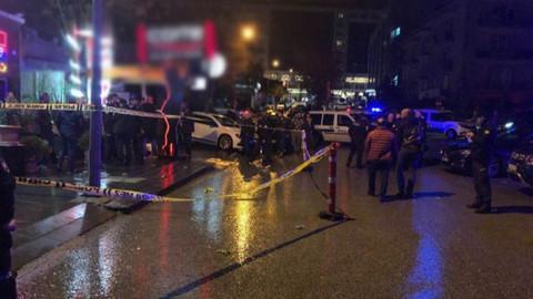 Ankara'da eğlence mekanında silahlı çatışma: 1 yaralı