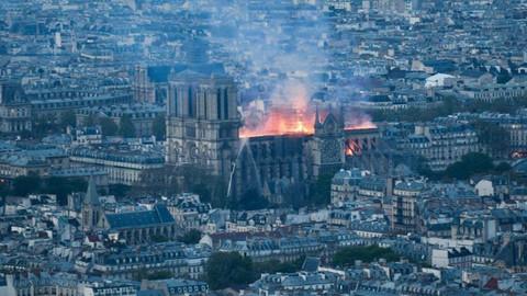 Notre Dame Katedrali'nin onarımı için toplanan bağış 700 milyon euroya ulaştı