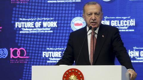 Cumhurbaşkanı Erdoğan: Hak arama mücadelesinden niye rahatsız oluyorsunuz?