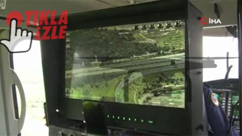 Havadan trafik denetimlerinde 13 bin 613 kural ihlali tespit edildi