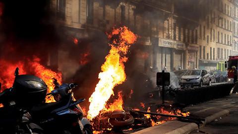 Fransa'da eylemler 23. haftasına girdi