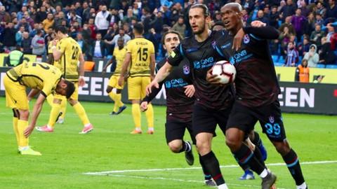 Trabzonspor galibiyeti seriye bağladı